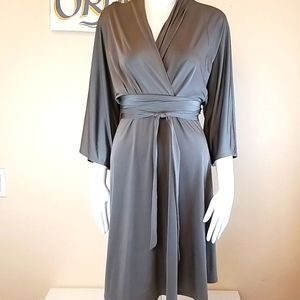 Asos Kimono Faux Wrap Dress